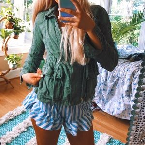aerie army green jacket